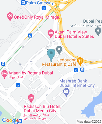 Map of location for Flourish Dubai