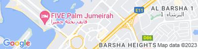 Dubai Corporate office Map