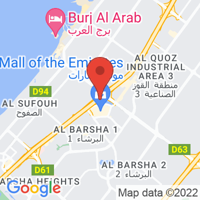 Map showing ARABICA (Mall of the Emirates)