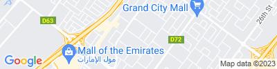 Dubai Operations Map