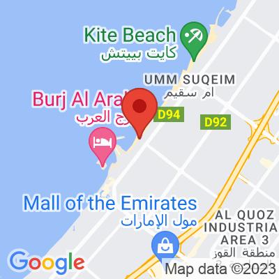 Map showing Salt (Kite Beach)