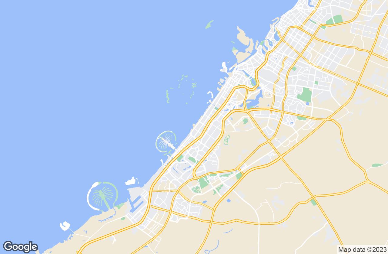 Google Map of دبي