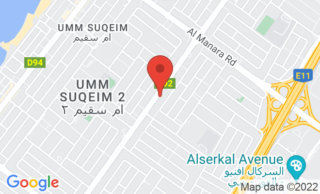 Hoor Al Aliaa Polyclinic location