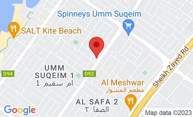 Cocoona Centre for Aesthetic Transformation (Al Wasl) location