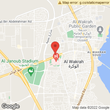 Map of American Eagle Store at Al wukair Street 201, Al wakrah,