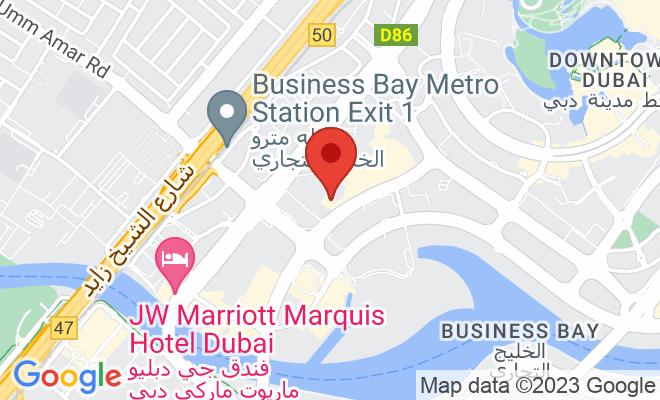 Emirates Hospital Clinic (Business Bay) location