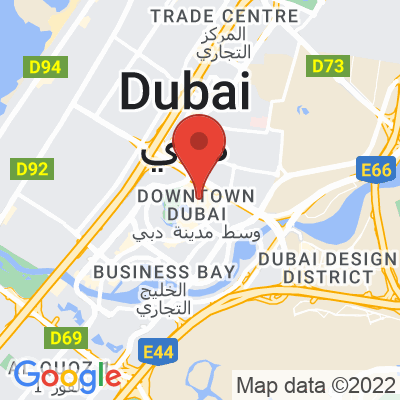 Map showing ARABICA (Dubai Mall)