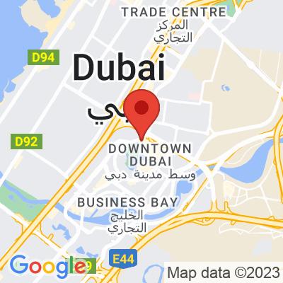 Map showing ARABICA (Dubai Mall Fountains)