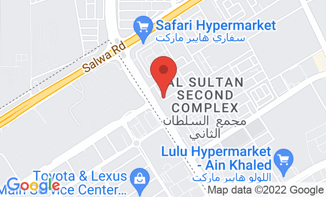 Aster Medical Centre (Industrial Area) location