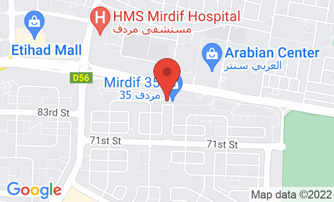 Cocoona Centre for Aesthetic Transformation (Mirdif) location