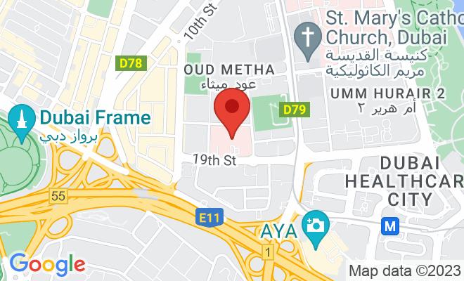 American Hospital (Dubai) location