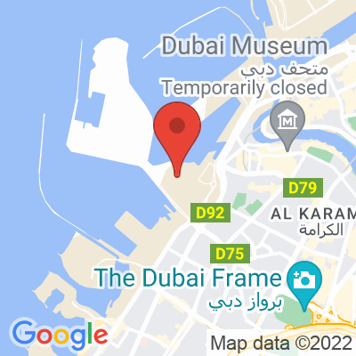 Map showing The Coffee Lab UAE
