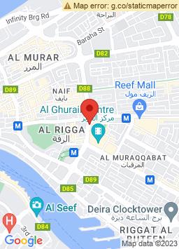 Google Map of Al Ghurair Rayhaan By Rotana