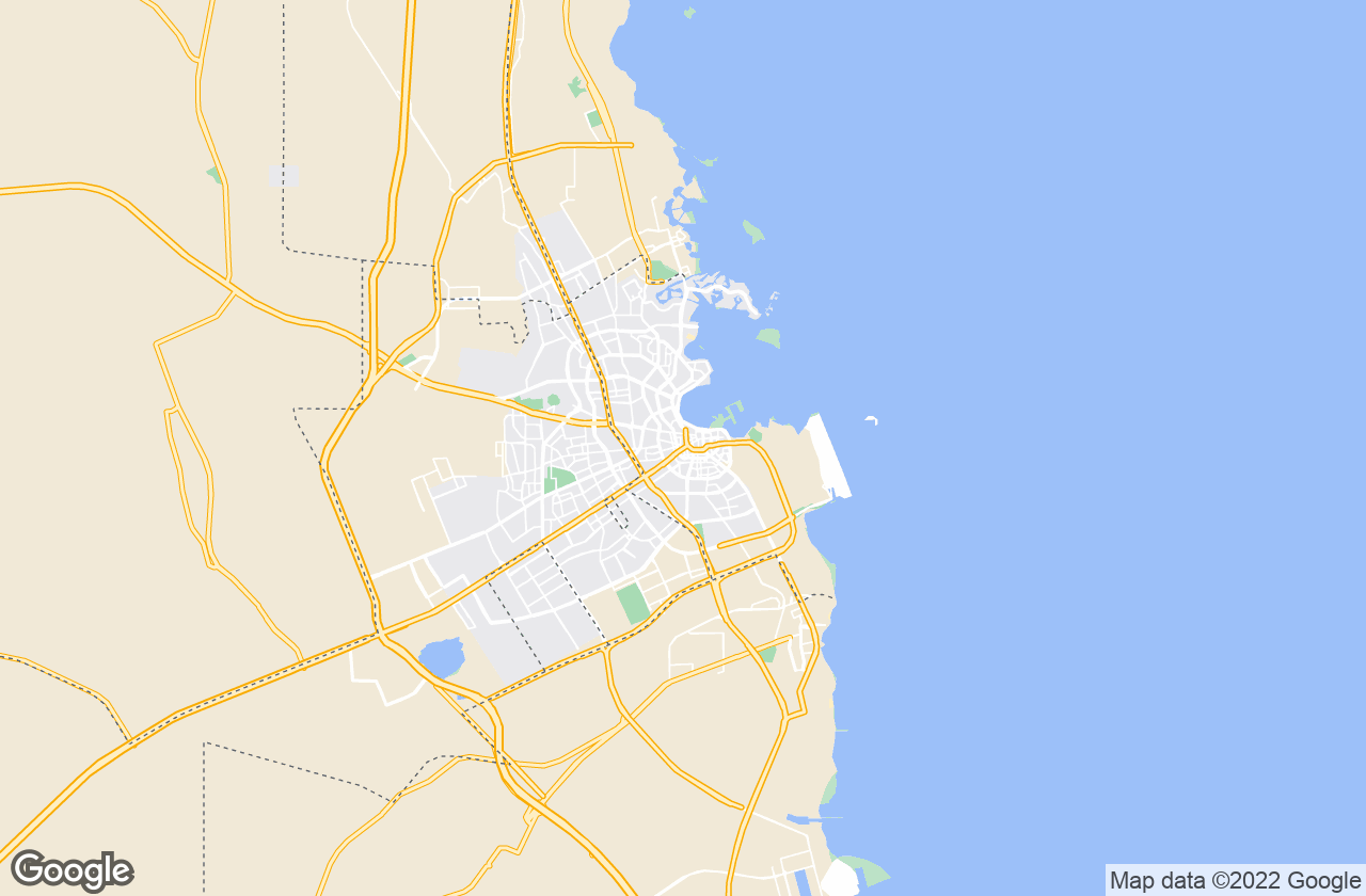 Google Map of الدوحة