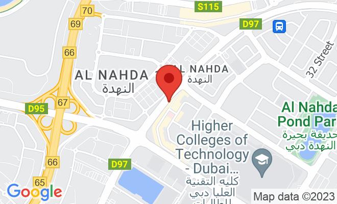 NMC Specialty Hospital (Al Nahda) location