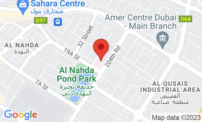 Zulekha Hospital (Dubai) location
