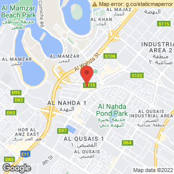 Map of American Eagle Store at Sahara Centre, Al Nahda Street, Sharjah, Sharjah