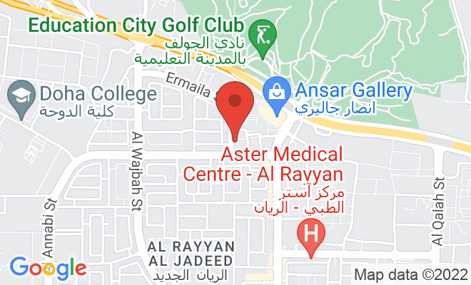 Naseem Al Rabeeh Medical Centre (Al Rayyan) location