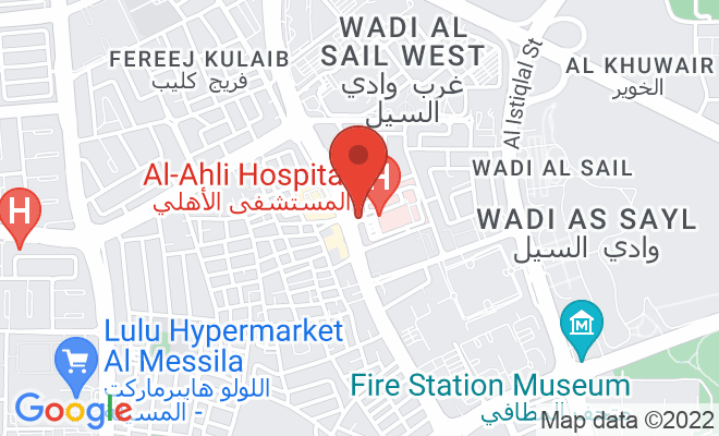 Al-Ahli Hospital location