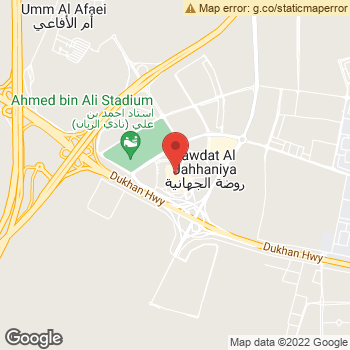 Map of American Eagle Store at Jahhaniya Interchange, Al Rayyan,