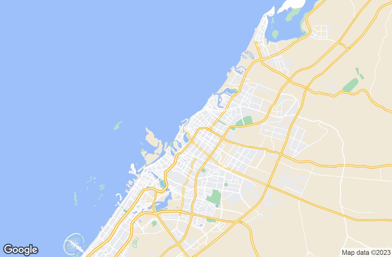 Google Map of الشارقة
