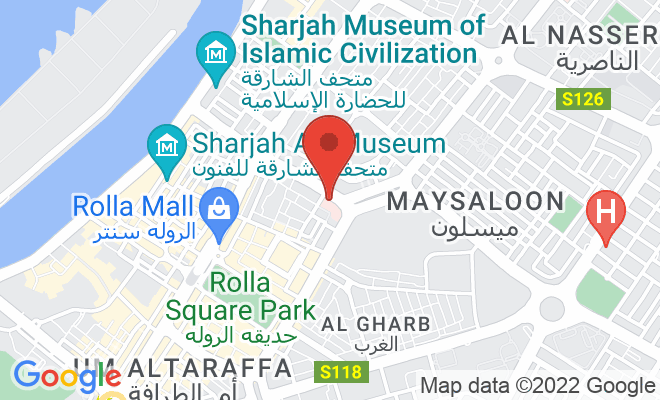 Al Zahra Hospital (Sharjah) location