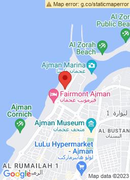 Google Map of Ajman Beach Hotel - عجمان
