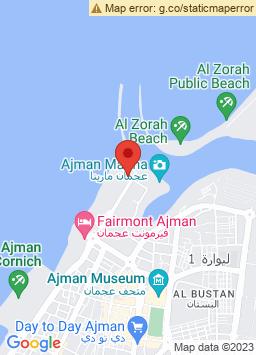 Google Map of فندق كمبينسكي عجمان