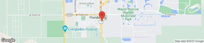 Map of 401 Se 1st Avenue in Florida City