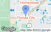 Map of Florida City, FL