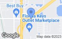 Map of Florida City, FL