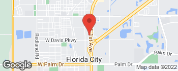 Map of 33550 S Dixie Hwy in Florida City