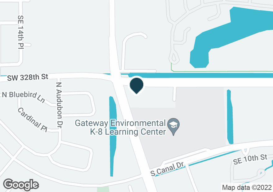 Google Map of1820 N CANAL DR