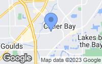 Map of Cutler Bay, FL