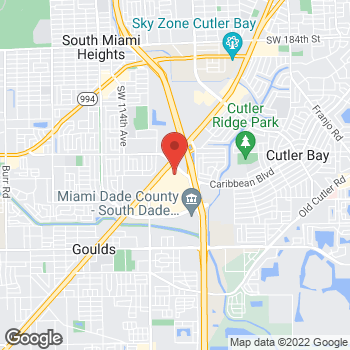 Map of Citi Trends at 20505 S. Dixie Hwy, Cutler Bay, FL 33189