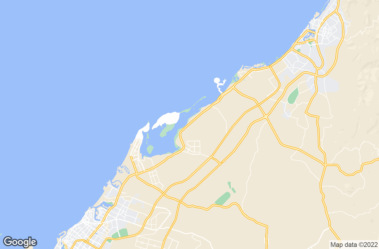 Google Map of أم القيوين