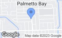 Map of Palmetto Bay, FL