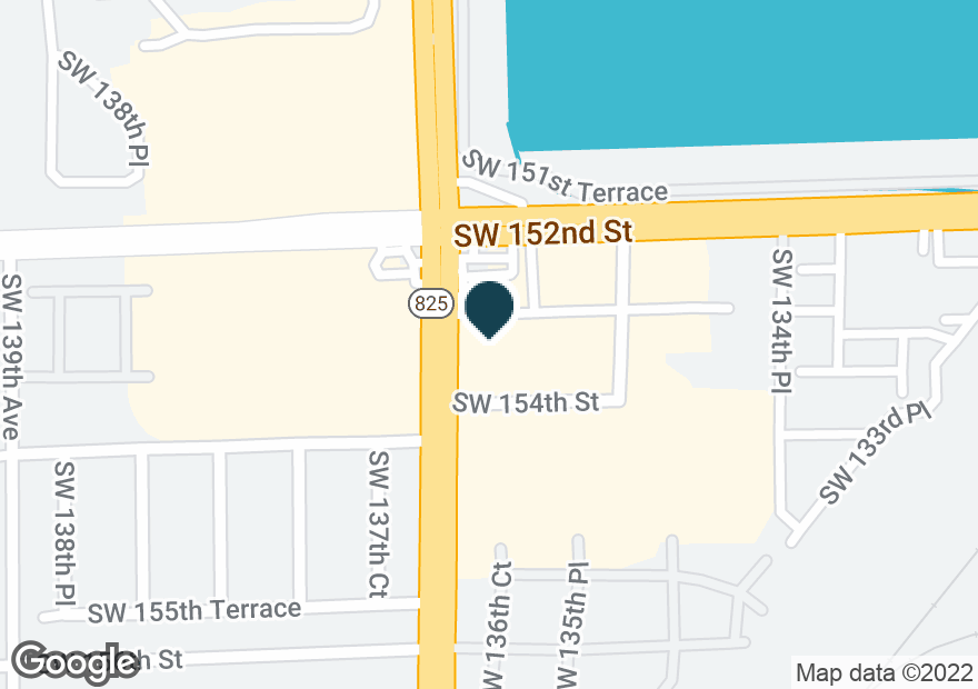 Google Map of15255 SW 137TH AVE
