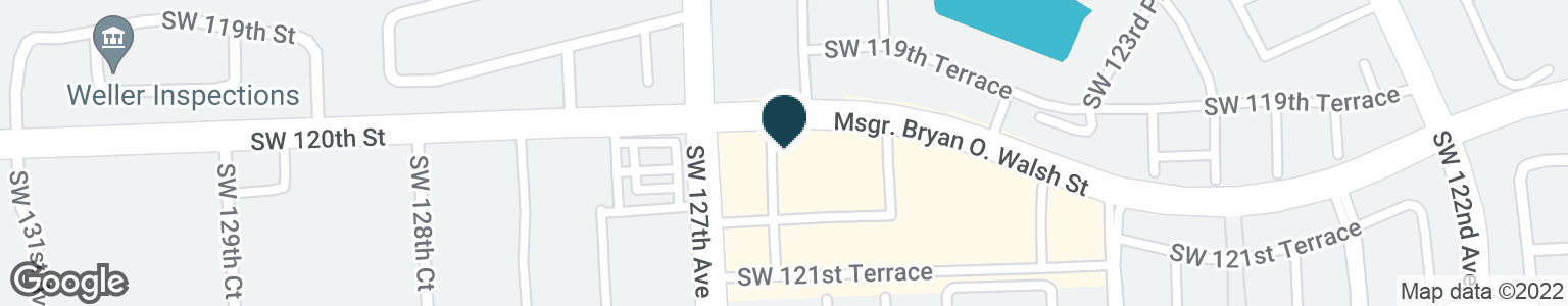 Google Map of12630 SW 120TH ST