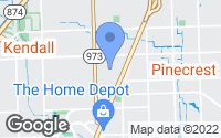 Map of Kendall, FL