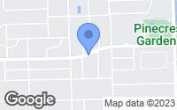 Map of Pinecrest, FL