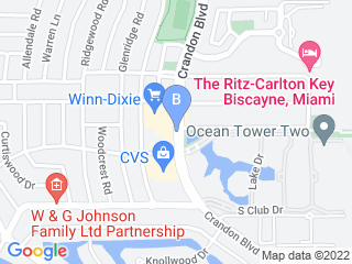 Map of Your Good Dog Dog Boarding options in Key Biscayne | Boarding