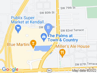 Map of Pet Steps Sitters Inc. Dog Boarding options in Miami | Boarding