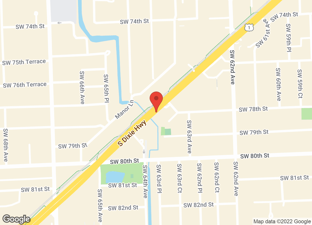 Google Map of VCA South Dade Animal Hospital