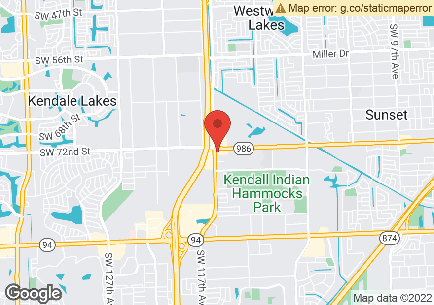 Google Map of 11690 SW 72ND ST