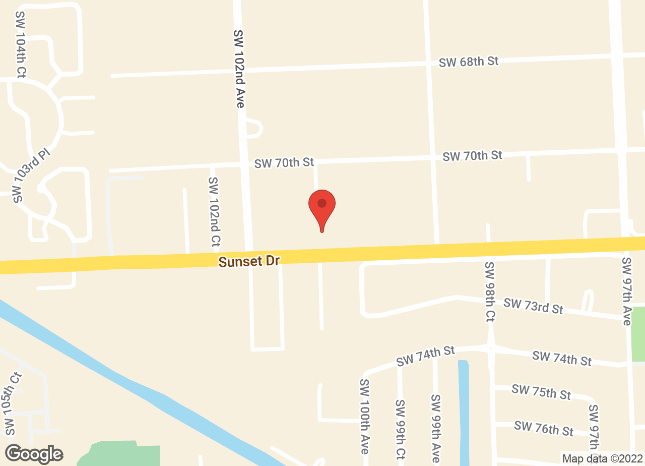 Google Map of VCA Knowles Snapper Creek Animal Hospital