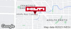 Obtener indicaciones para Hilti Center Monterrey