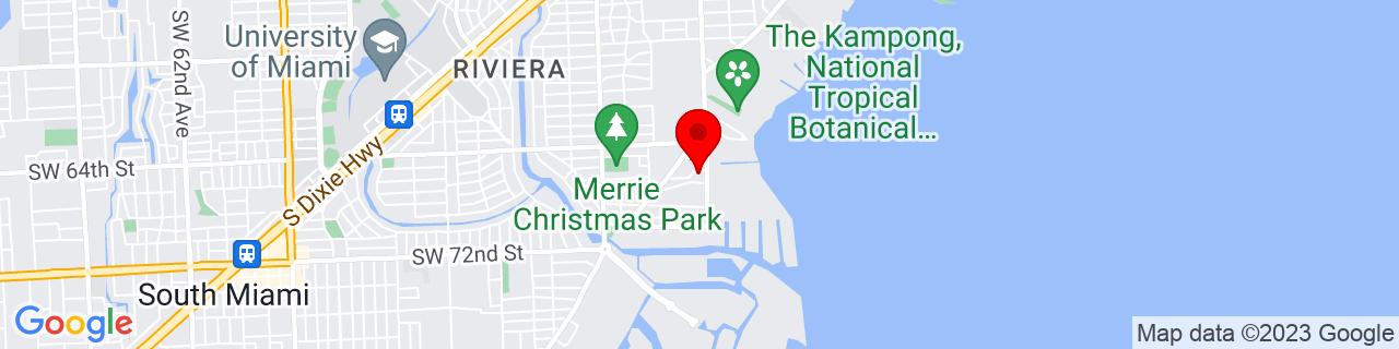 Google Map of 25.710674, -80.253479