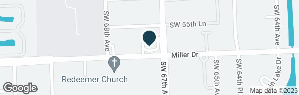 Google Map of6701 MILLER DR