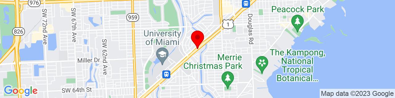 Google Map of 25.72138888888889, -80.26833333333333